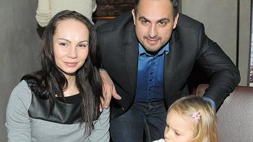 Nina Tyrka, Agustin Eggurola i ich córka Carmen