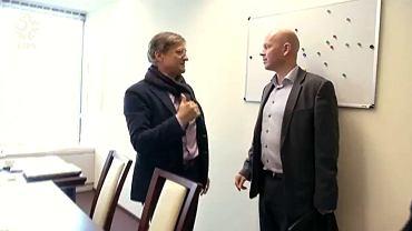 Henning Berg na spotkaniu z Adamem Nawałką