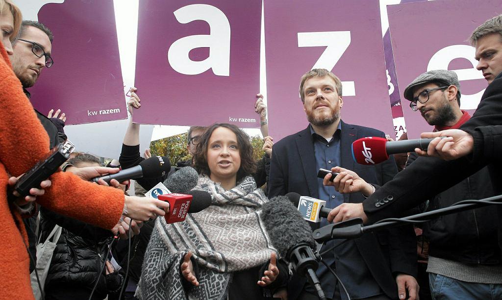 Marcelina Zawisza i Adrian Zandberg