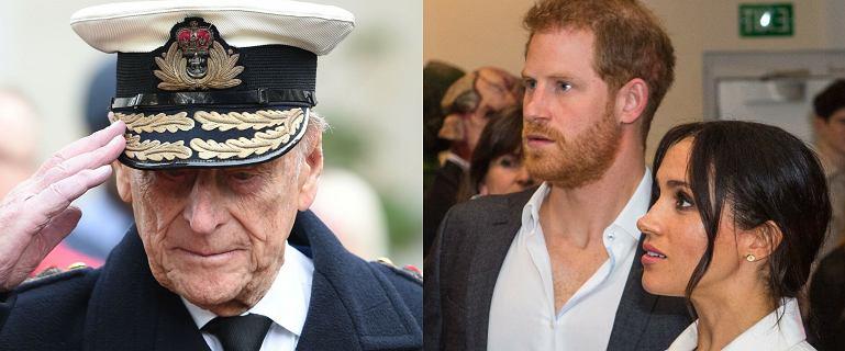 Meghan Markle i książę Harry reagują na śmierć księcia Filipa