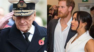 Meghan Markle i książę Harry reagują na śmierć księcia Filipa. Na stronie ich fundacji pojawiła się krótka wiadomość