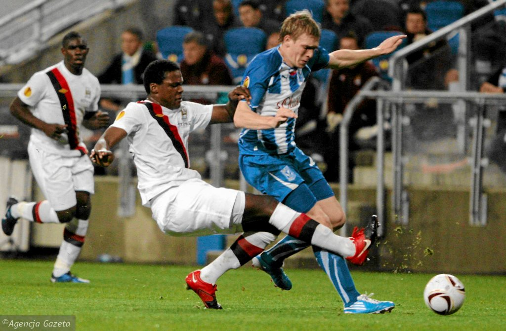Lech Poznań - Manchester City 3:1