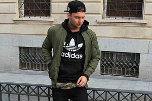 Męskie bluzy Adidas w super cenach i najmodniejszych kolorach sezonu