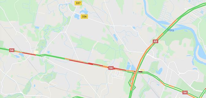 Karambol na Autostradowej Obwodnicy Wrocławia. Zderzyły się cztery samochody