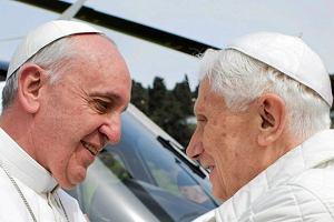 papież Franciszek, Benedykt XVI