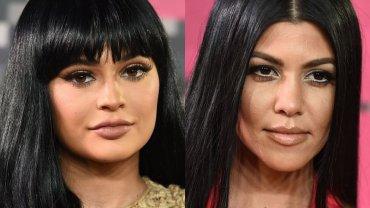 Kylie Jenner i Kourtney Kardashian