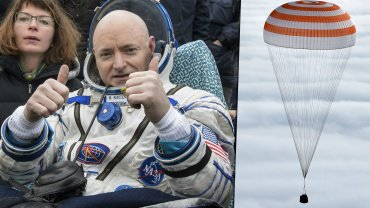Lądowanie astronautów