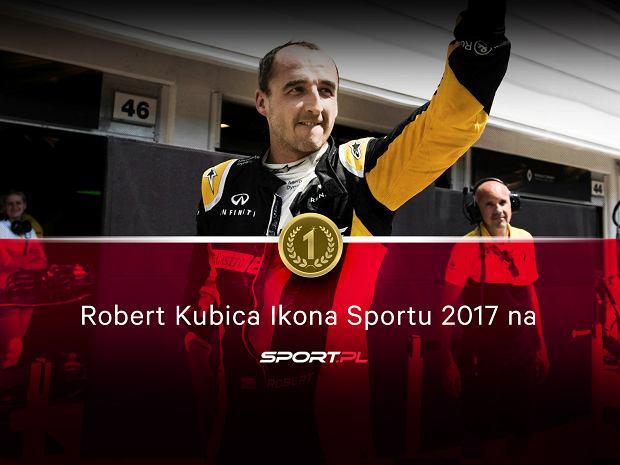 Robert Kubica Ikoną Sportu 2017 Sport.pl