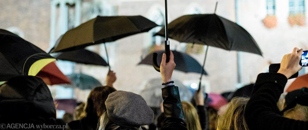 Czarny protest. Wrocław, 24 października 2016