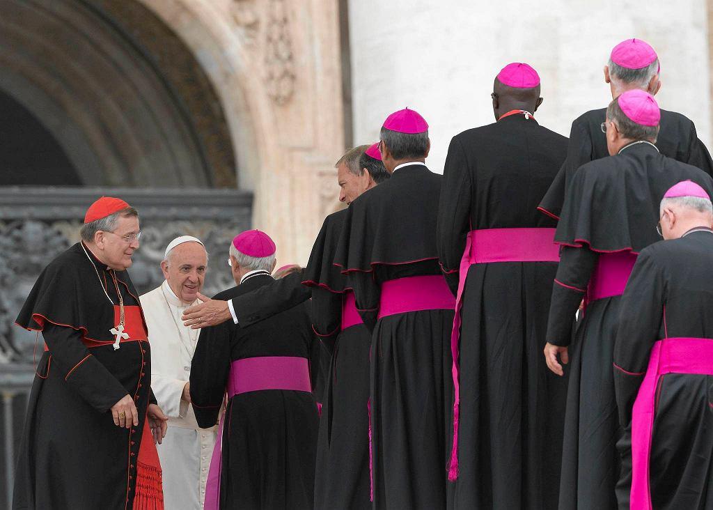 Papież Franciszek i biskupi