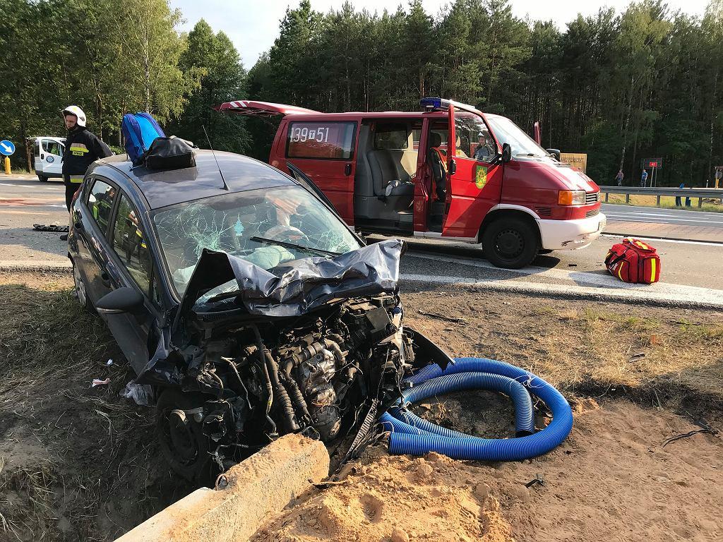 Wypadek w Rudzie Malenieckiej