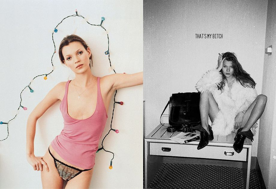 Kate Moss - lata 90.