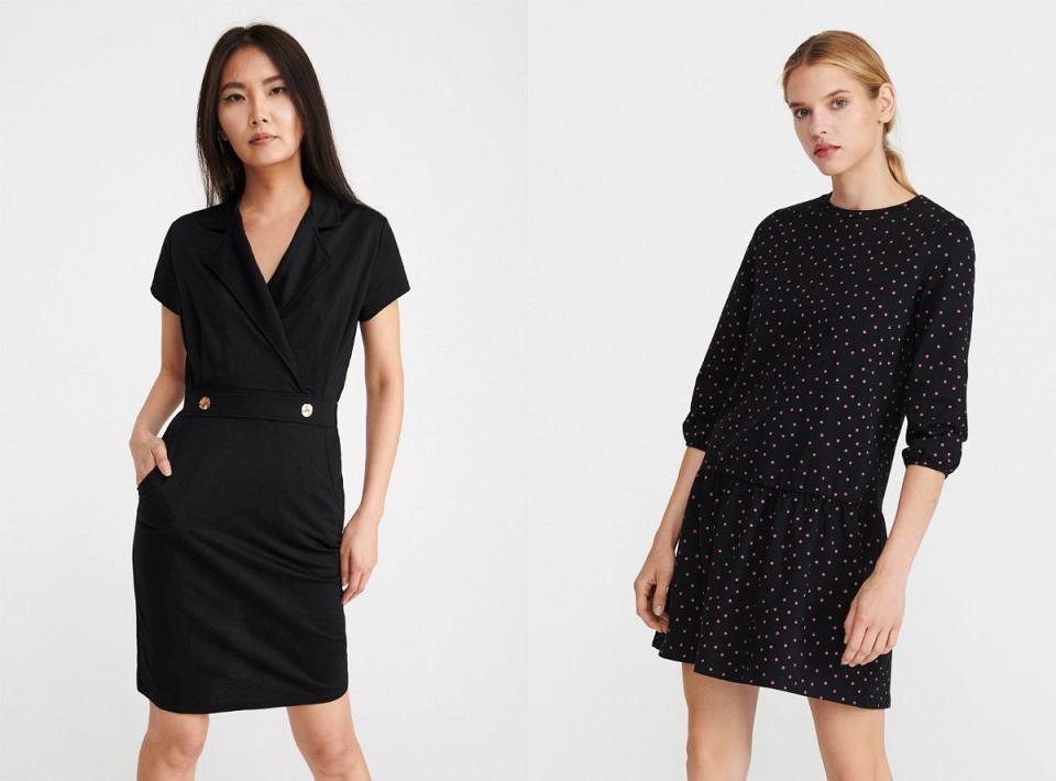 Sukienki Reserved czarne
