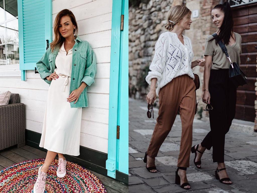 Wygodne ubrania w stylizacjach Anny Zając