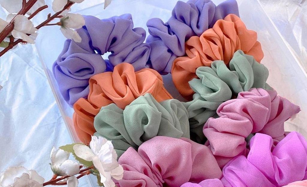 Gumka scrunchie
