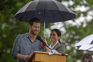 Meghan Markle i książę Harry w Australii - 'królewski cud'