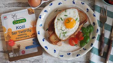 Śniadanie z kozim serem