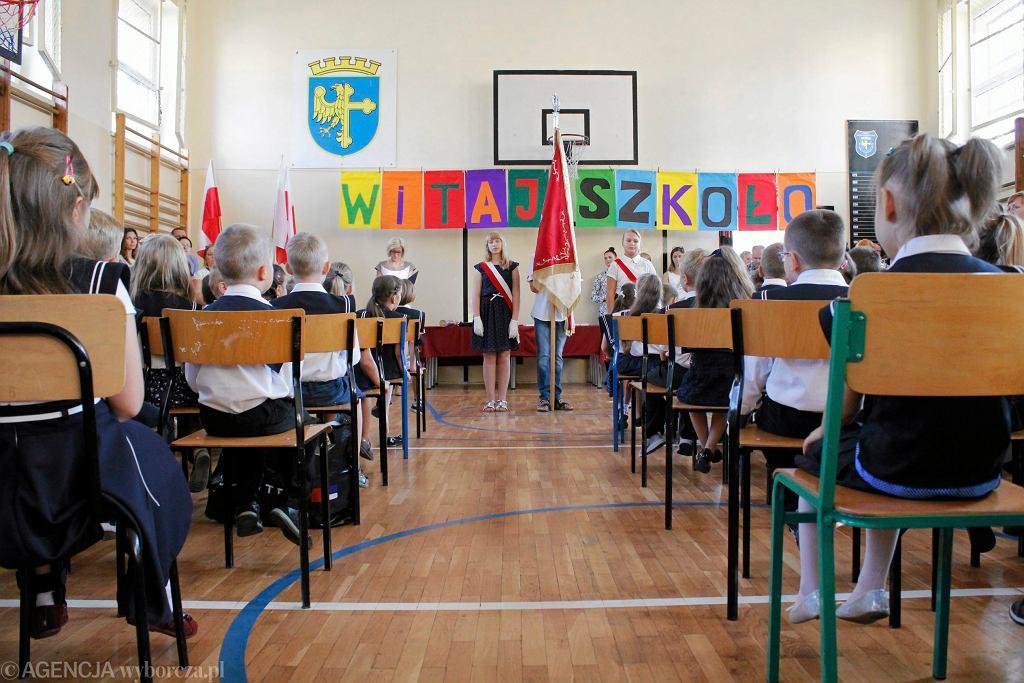 Pierwszy dzień szkoły (zdjęcie ilustracyjne)