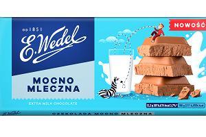 Mocno Mleczna przyjemności smaku. Nowa linia czekolad Mocno Mlecznych od E.Wedel