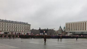 Uroczysta zmiana warty i odczytanie apelu poległych pod Grobem Nieznanego Żołnierza