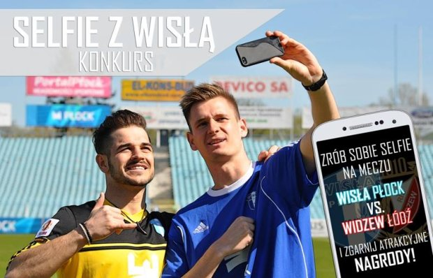 Zrób sobie selfie na meczu z Widzewem. Zgarnij nagrody!