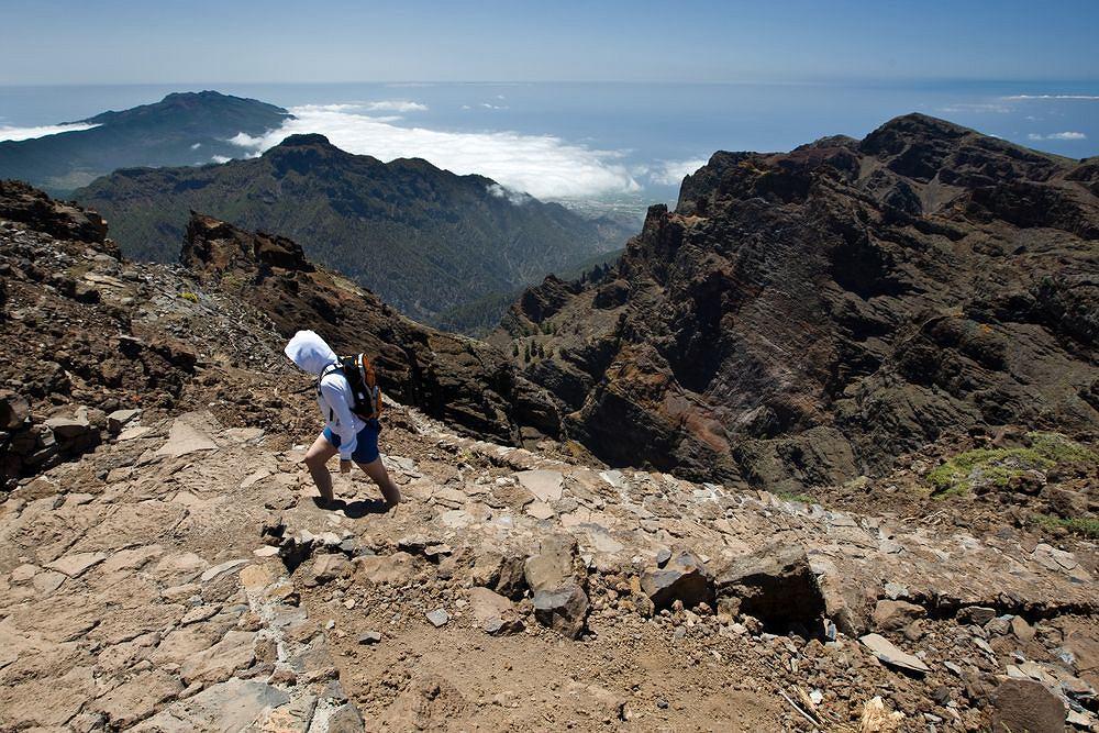 Wyspy Kanaryjskie - La Palma. Wspinaczka na Roque de los Muchachos