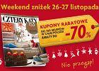 """26-27 listopada """"Weekend zniżek"""" z miesięcznikiem """"Cztery Kąty"""""""