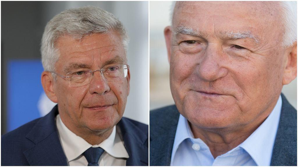 Stanisław Karczewski i Leszek Miller