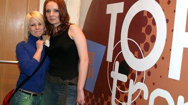 Ewelina Flinta i Alicja Janosz w młodości