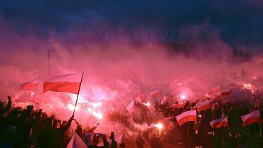 'Marsz Niepodległości', Warszawa, 11 listopada 2015