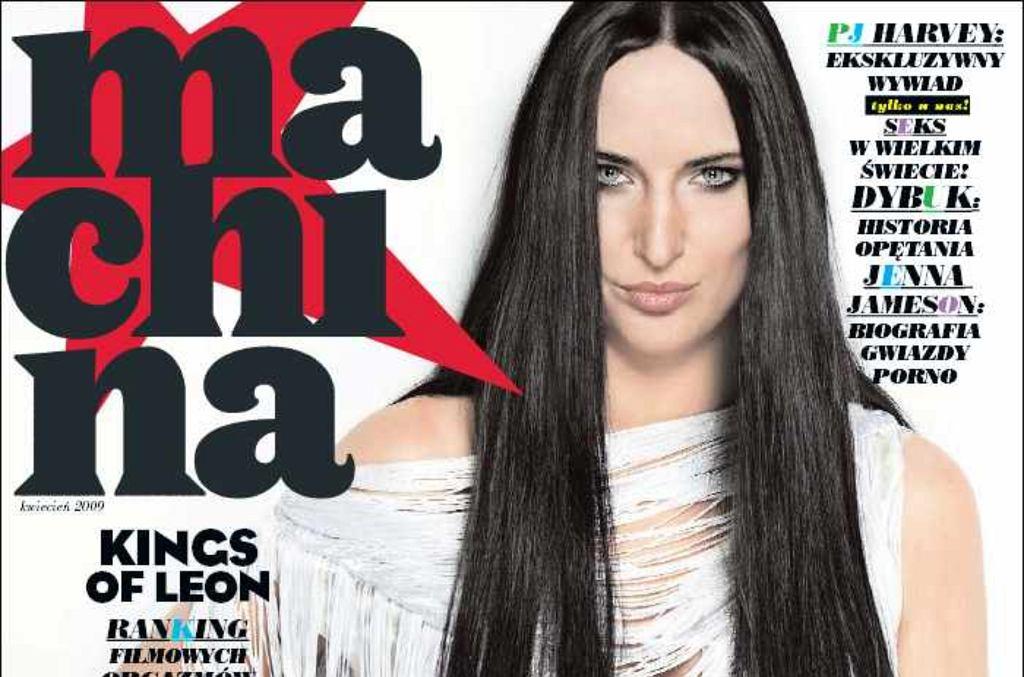 Okładka magazynu 'Machina' z kwietnia 2009 roku