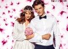Białe koszule Wólczanka dla pana młodego... i panny młodej