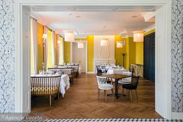 Restauracja Biały Królik w hotelu Quadrille