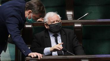 Zbigniew Ziobro i Jarosław Kaczyński
