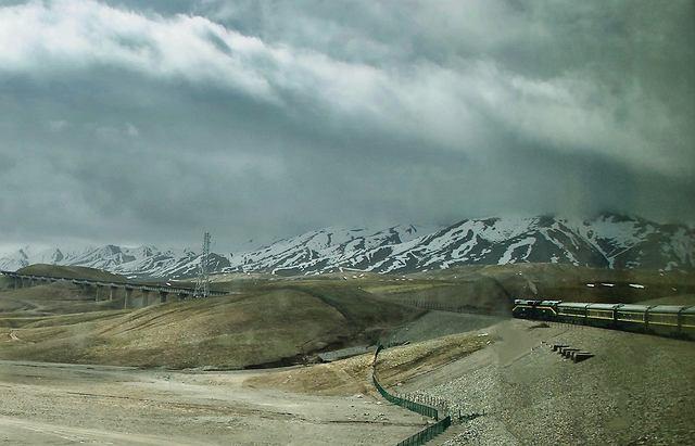 Góry w Tybecie