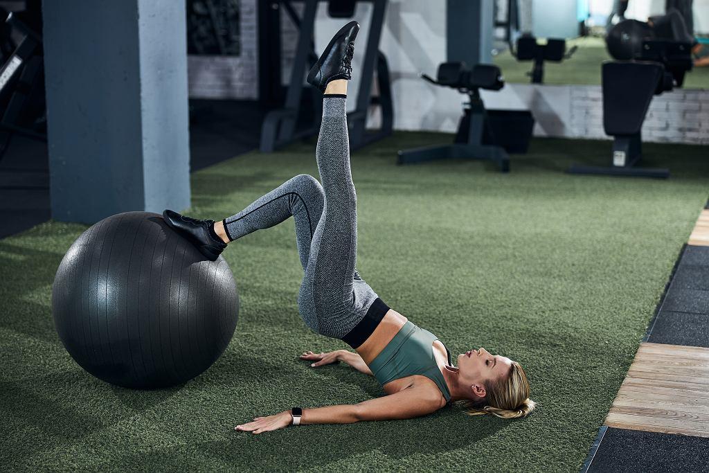 Trening z piłką stabilizacyjną