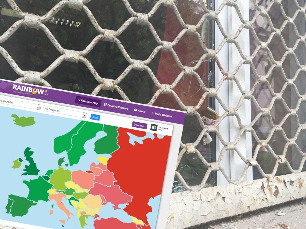 Raport ILGA i zbita szyba siedziby KPH