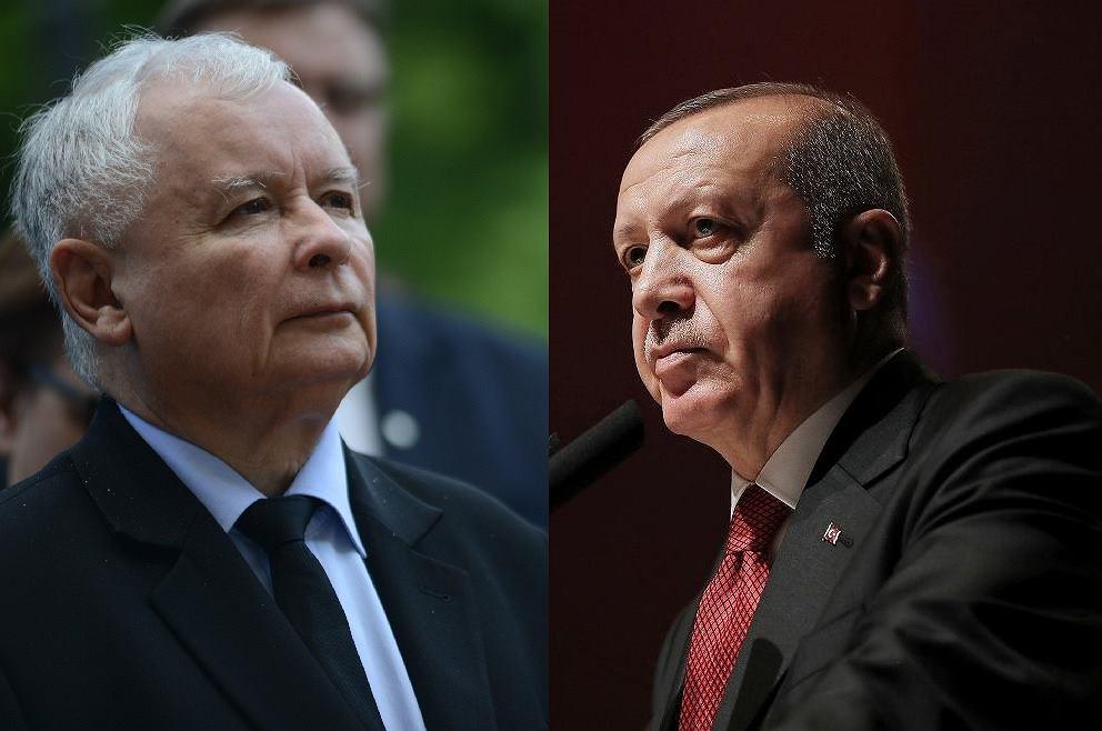 Jarosław Kaczyński/Recep Erdogan