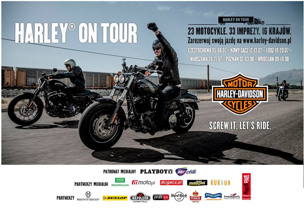 Harley on Tour