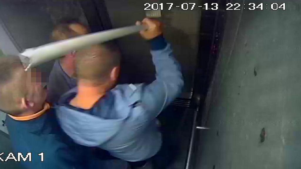 Spółdzielnia Mieszkaniowa pokazała, co ludzie robią w windzie