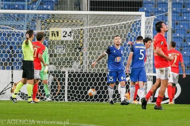 Mecz dobry, ale wynik słaby! Lech zaczyna Ligę Europy od porażki