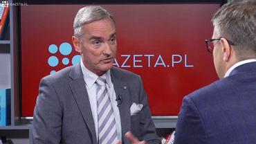 Jan Maria Jackowski gościem Gazeta.pl