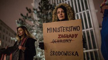 *Demonstracja STOP rzezi dzikow w Warszawie