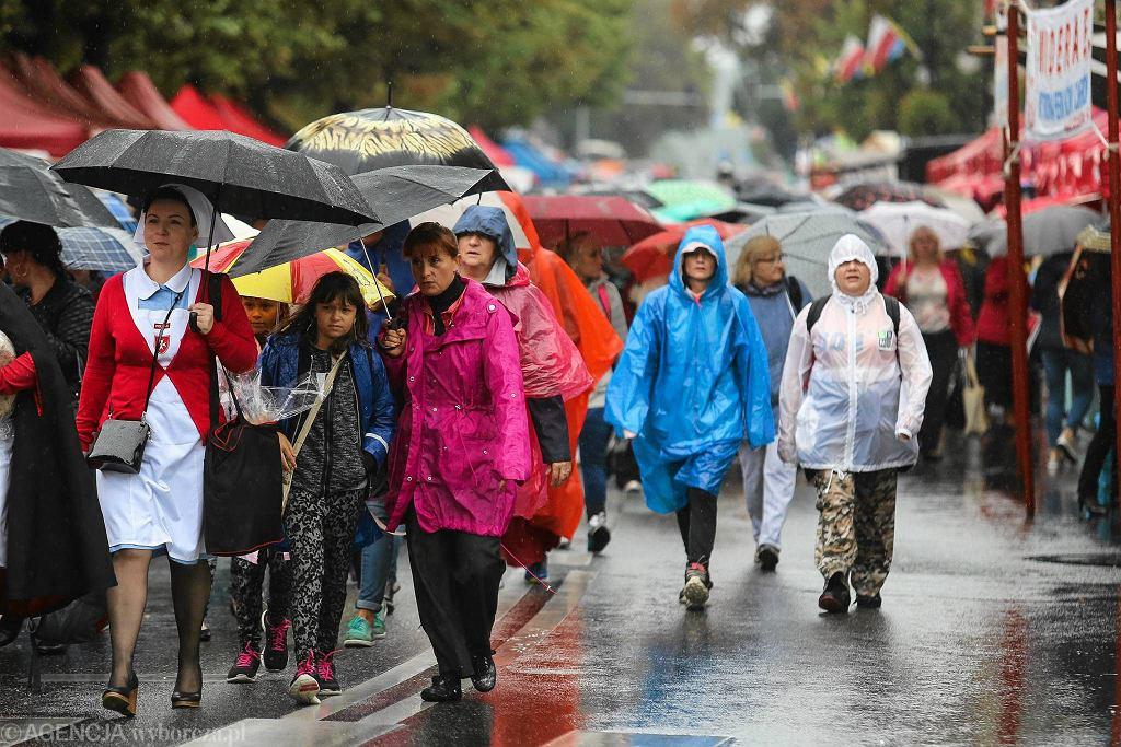 Deszcz w Piekarach Śląskich