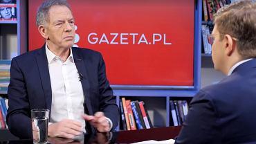 Dariusz Rosati gościem poranka Gazeta.pl. 'To ekstrawagancja. Kiedyś prezes NBP zarabiał 30 tys. złotych'