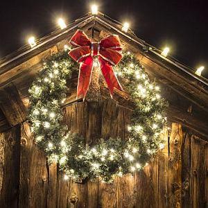 Ozdoby świąteczne, bożonarodzeniowe dekoracje świąteczne, oświetlenie