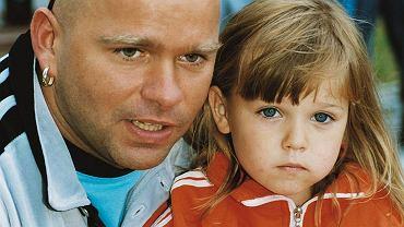 Klaudiusz Sevković z córką