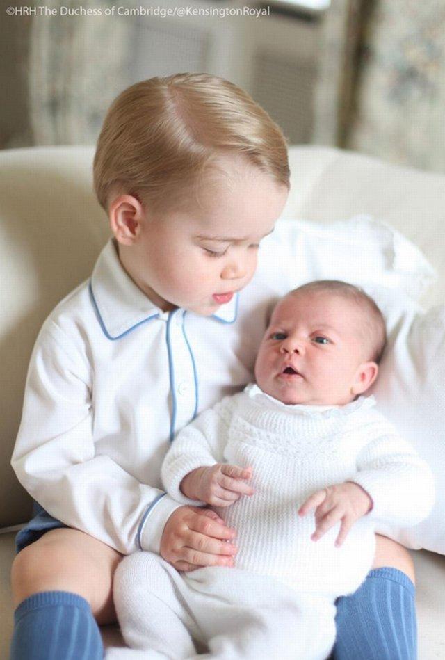 Książę Jerzy i księżniczka Charlotte