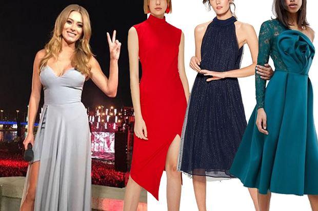 sukienki na studniówkę / mat. partnera / www.instagram.com/marcelina_zawadzka/