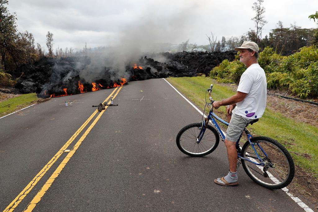 Skutki erupcji wulkanu Kilauea na Hawajach